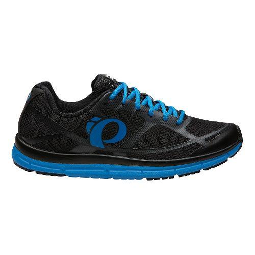 Mens Pearl Izumi EM Road M2 V3 Running Shoe - Black/Fountain Blue 8.5