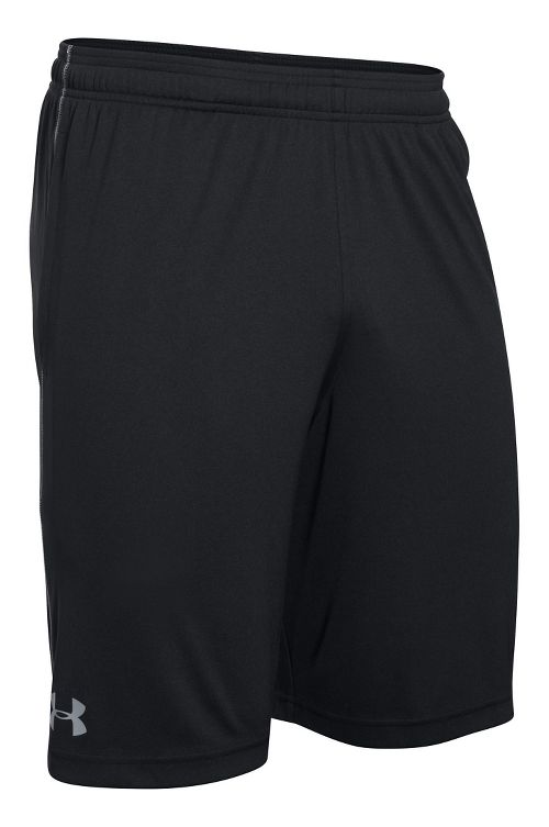 Mens Under Armour Tech Graphic Unlined Shorts - Black/Steel S