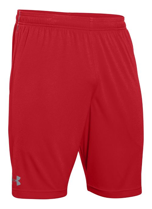 Mens Under Armour Tech Graphic Unlined Shorts - Red L