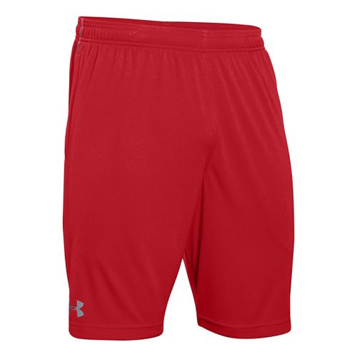 Mens Under Armour Tech Graphic Unlined Shorts - Red M