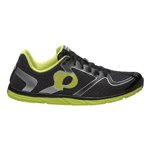 Mens Pearl Izumi EM Road N0 v2 Running Shoe - Grey/Lime 7