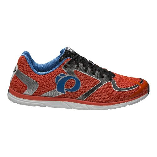 Mens Pearl Izumi EM Road N0 v2 Running Shoe - Orange/White 11.5