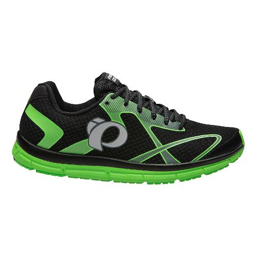 Mens Pearl Izumi EM Road N 2 V3 Running Shoe - Black/Shadow Grey 12