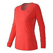 Womens New Balance Accelerate Long Sleeve Technical Tops