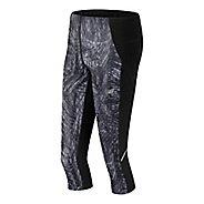 Womens New Balance Printed Accelerate Capris Pants