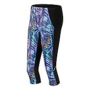 Womens New Balance Printed Accelerate Capris Pants