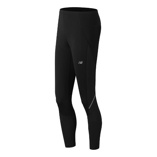 Womens New Balance Accelerate Tights & Leggings Pants - Black M