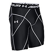 Mens Under Armour HeatGear Core Compression & Fitted Shorts - Black S