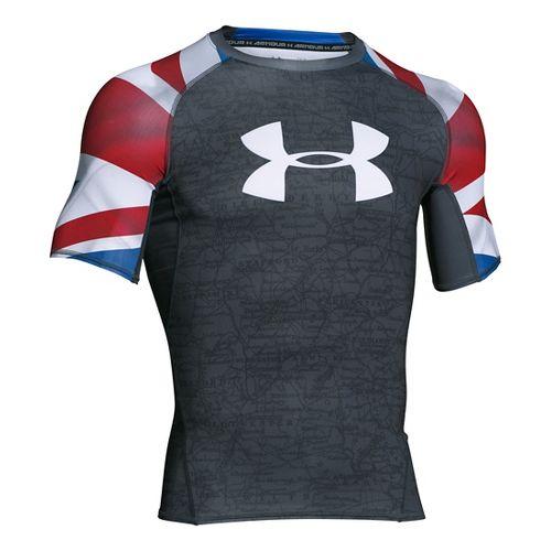 Men's Under Armour�UK Pride HeatGear Armour Compression Shirt