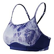 Womens New Balance The Tenderly Obsessive Print Sport Tops Bras