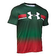 Mens Under Armour Mexico Country Pride T Short Sleeve Technical Tops