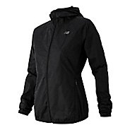 Womens New Balance Reflective Windcheater Rain Jackets