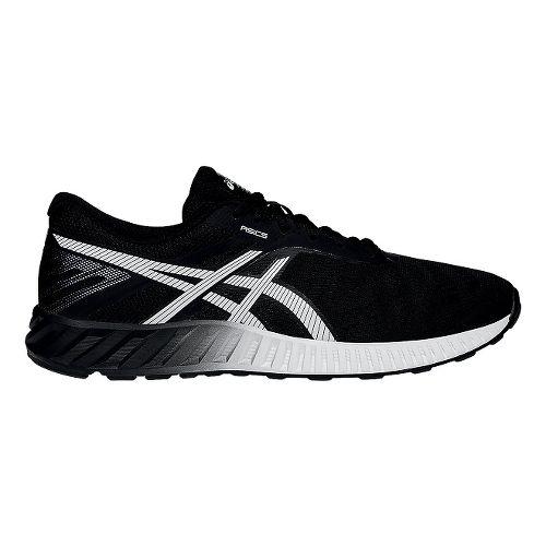 Mens ASICS fuzeX Lyte Running Shoe - Black/White 11