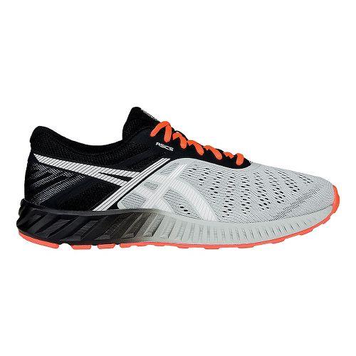 Mens ASICS fuzeX Lyte Running Shoe - Light Grey/White 11