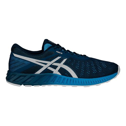 Mens ASICS fuzeX Lyte Running Shoe - Ink/White 10