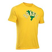 Mens Under Armour Brazil Country Pride Triblend T Short Sleeve Technical Tops