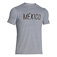 Mens Under Armour Mexico Country Pride Triblend T Short Sleeve Technical Tops