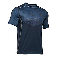Mens Under Armour HeatGear Podium Fitted T Short Sleeve Technical Tops