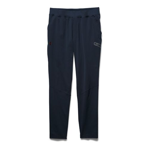 Mens Under Armour HeatGear Podium Tapered Pants - Cadet S