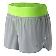 "Womens New Balance Precision Run Hybrid 3"" Lined Shorts"