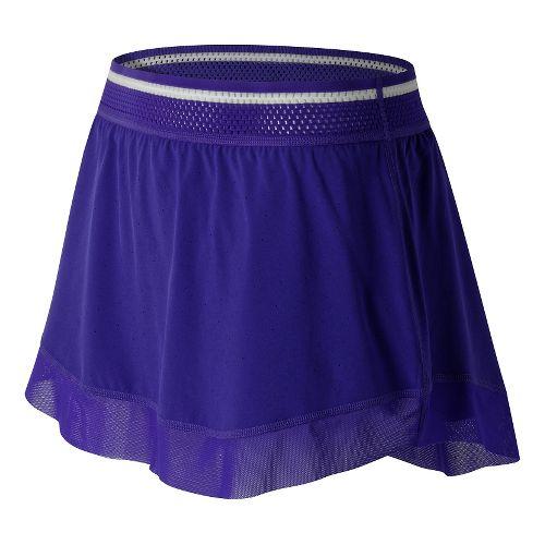 Womens New Balance Tournament Skorts Fitness Skirts - Spectral XL