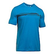 Mens Under Armour Fast Left Chest T Short Sleeve Technical Tops