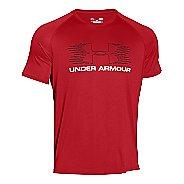 Mens Under Armour Tech Movement Sportstyle T Short Sleeve Technical Tops