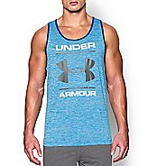 Mens Under Armour Tech Graphic Sleeveless & Tank Technical Tops