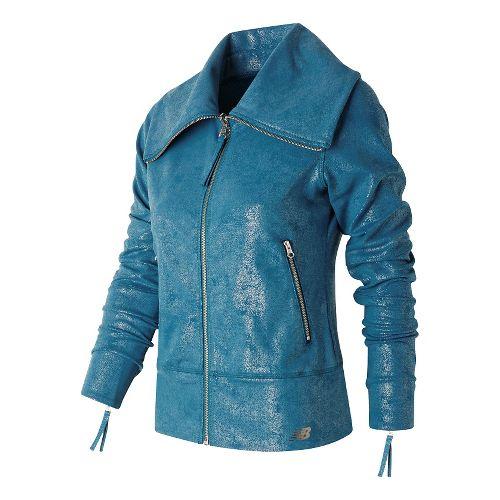 Womens New Balance Shadow Jackets - Castaway XS