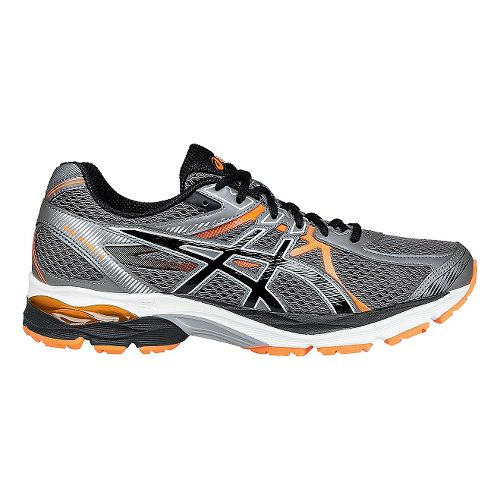 Mens ASICS GEL-Flux 3 Running Shoe - Carbon/Hot Orange 7