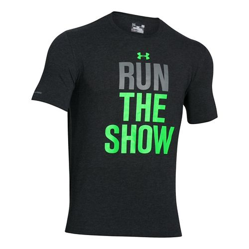 Men's Under Armour�Run the Show Shortsleeve T