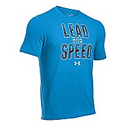 Mens Under Armour Lead Speed T Short Sleeve Technical Tops
