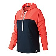 Womens New Balance Anorak Jacket Hoodie & Sweatshirts Non-Technical Tops