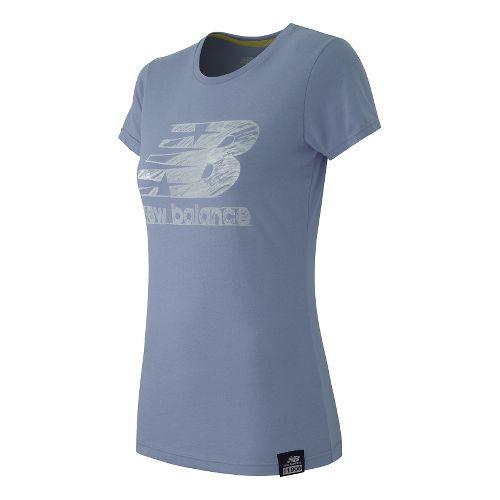 Women's New Balance�Essentials Plus Short Sleeve Logo Tee
