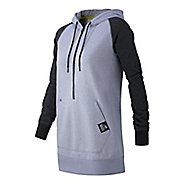 Womens New Balance Half Zip Hoodie & Sweatshirts Technical Tops