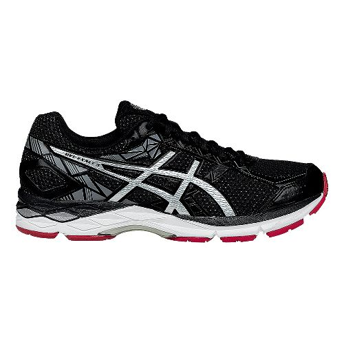 Mens ASICS GEL-Exalt 3 Running Shoe - Black/Racing Red 7.5