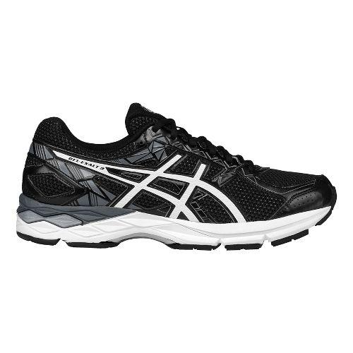 Mens ASICS GEL-Exalt 3 Running Shoe - Black/White 9