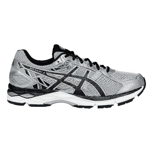Mens ASICS GEL-Exalt 3 Running Shoe - Silver/Black 11
