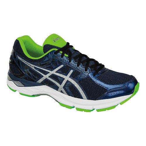Mens ASICS GEL-Exalt 3 Running Shoe - Blue/Green 10.5