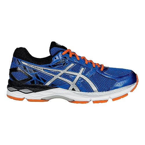 Mens ASICS GEL-Exalt 3 Running Shoe - Blue/Silver 10.5
