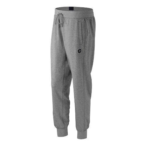 Womens New Balance Classic Sweatpants - Athletic Grey L