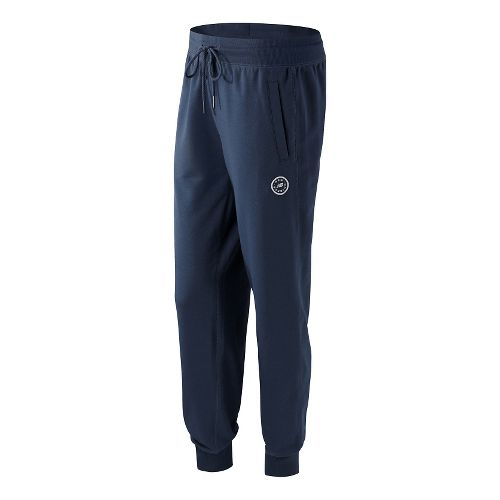 Womens New Balance Classic Sweatpants - Navy L