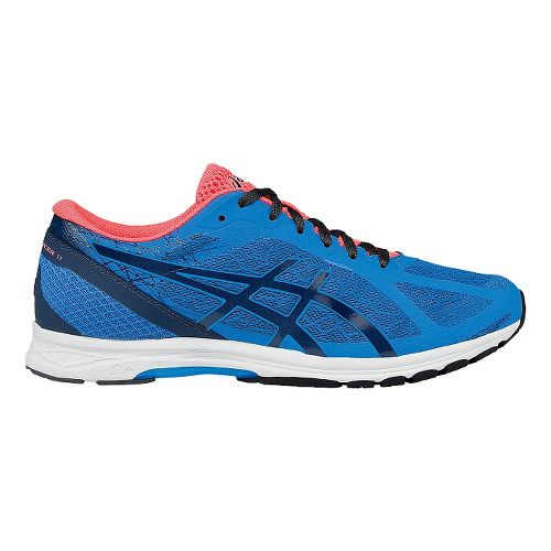 Mens ASICS GEL-DS Racer 11 Racing Shoe - Blue/Coral 15