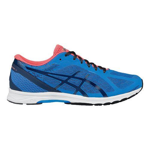 Mens ASICS GEL-DS Racer 11 Racing Shoe - Blue/Coral 15