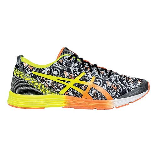 Mens ASICS GEL-Hyper Tri 2 Running Shoe - Black/Orange 9