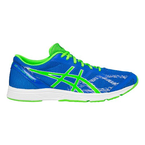 Mens ASICS GEL-Hyper Speed 7 Racing Shoe - Blue/Green 10.5