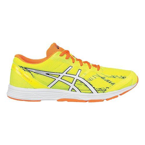 Mens ASICS GEL-Hyper Speed 7 Racing Shoe - Yellow/Orange 8.5