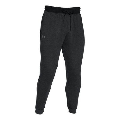 Mens Under Armour Tri-blend Fleece Jogger Pants - Asphalt Heather M-R