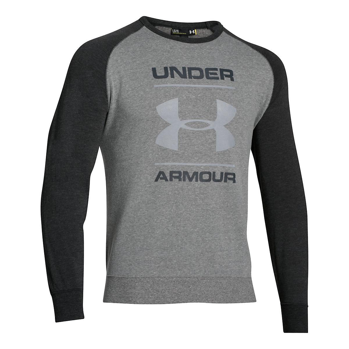 Men's Under Armour�Tri-blend Fleece Crew Logo