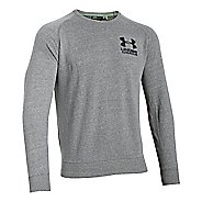 Mens Under Armour Tri-blend Fleece Crew Hoodie & Sweatshirts Technical Tops